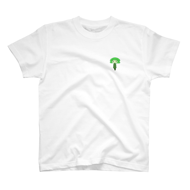 月山の【二次創作】おっとりKAKIさん T-shirts