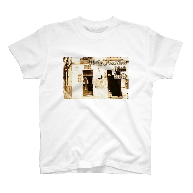 FUCHSGOLDのスペイン:トレドの土産物店 Spain: Souvenier shop in Toledo T-shirts