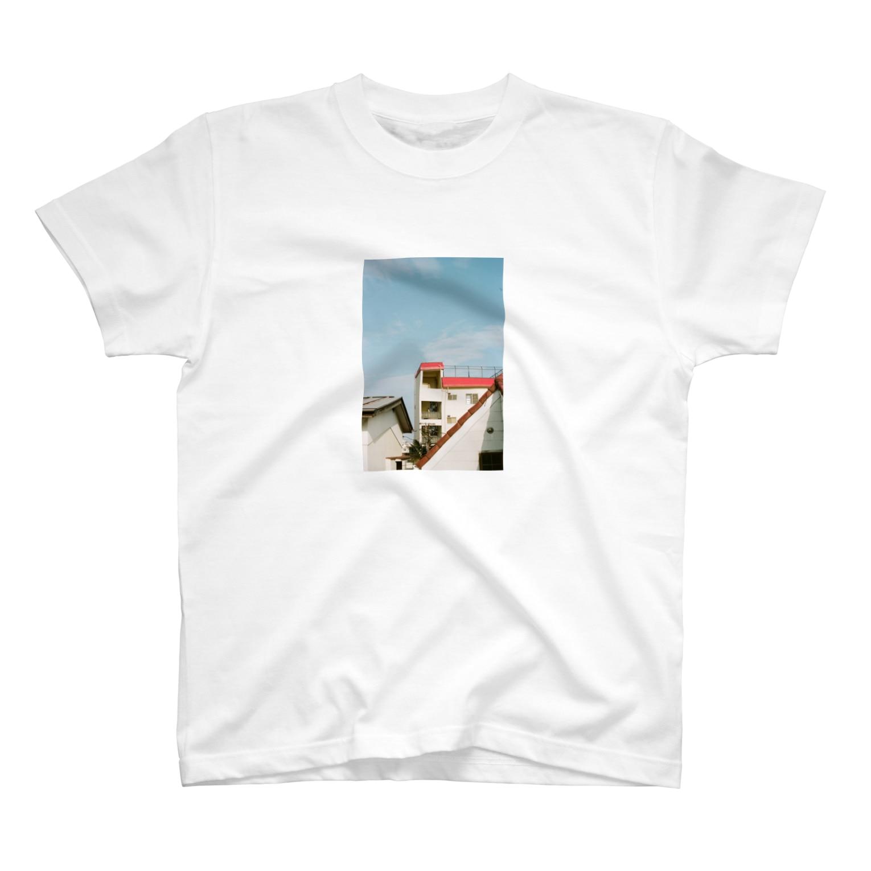 Shogo Hirokiのapartment T-shirts
