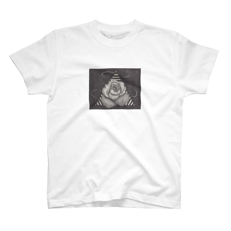 ここだけの銅版画SHOPの遠い記憶 -早春- T-shirts