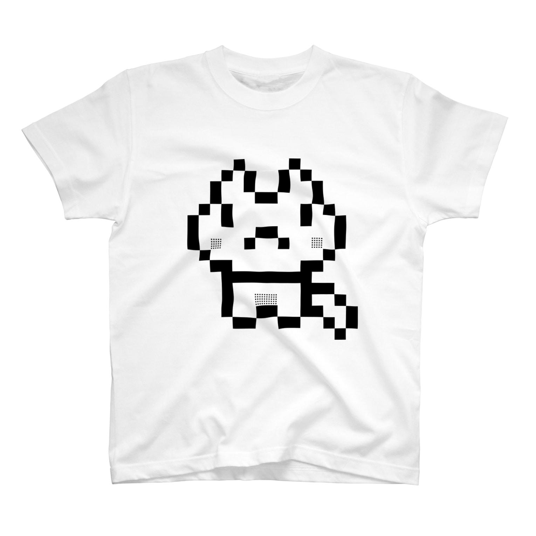 紅音屋本舗のドットのねこ T-shirts