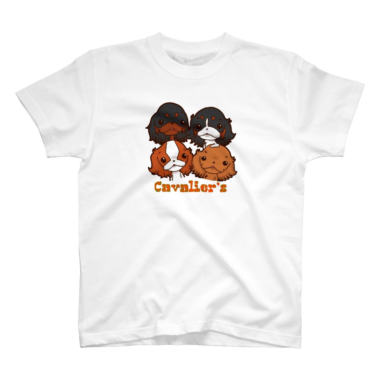 Shimiyasuのキャバズ イラストグッズ№01 T-shirts