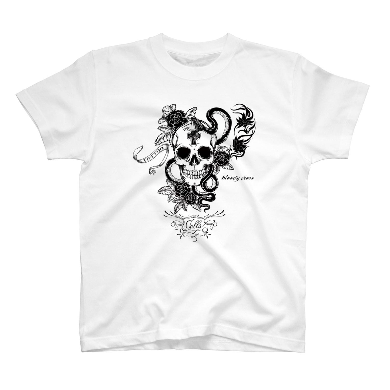 JOKERS FACTORYのBLOODY CROSS T-shirts