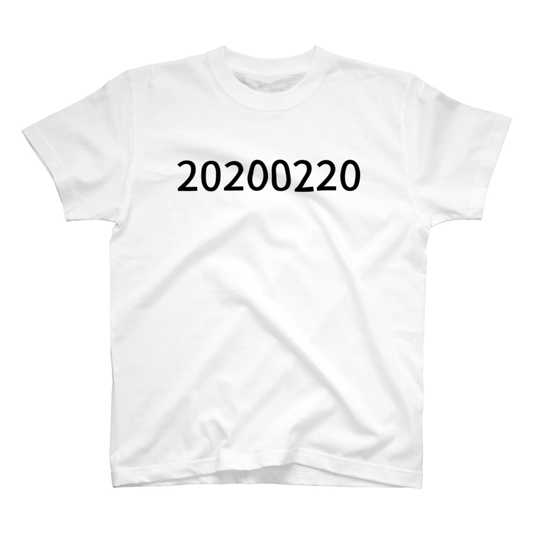 Gengo Yamaguchi ◐ ◐の20200220 T-shirts