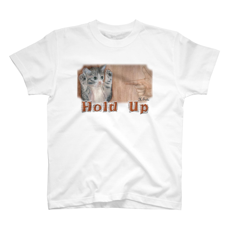 あとりえ・せとのHOLD UP T-shirts