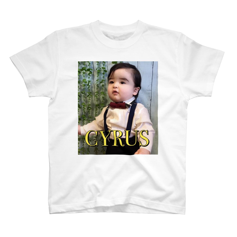 I can change this world⚜のサイラスくん 1才バースデイ記念!オリジナル T-shirts