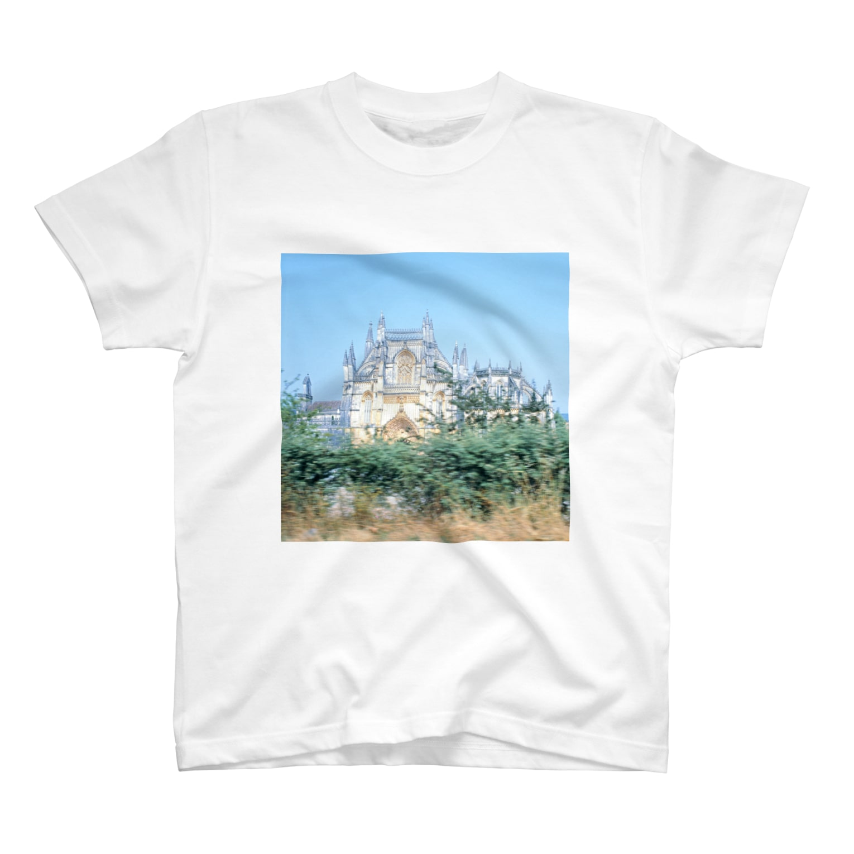 FUCHSGOLDのポルトガル:バターリャ修道院 Portugal: Batalha Monastery T-shirts