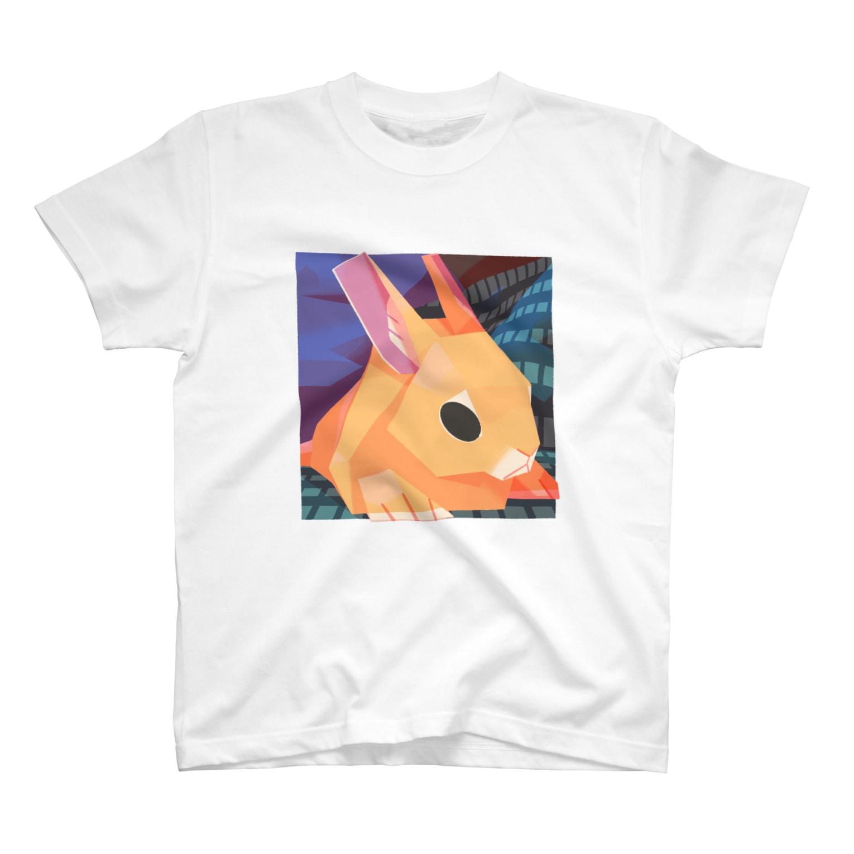 からす商の溶けうさぎ T-shirts