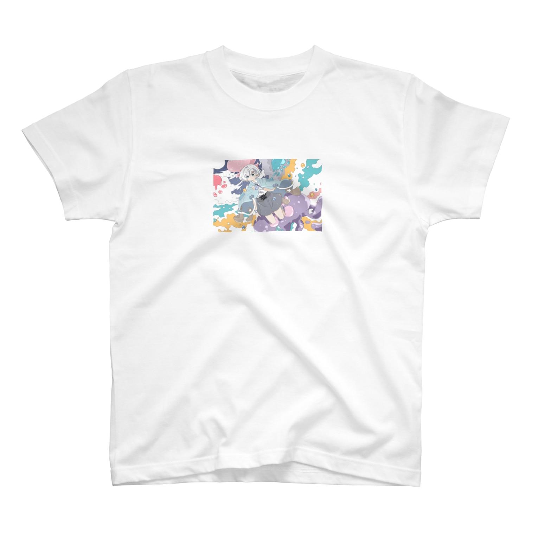 soramiyaのくらげの女の子その2 T-shirts
