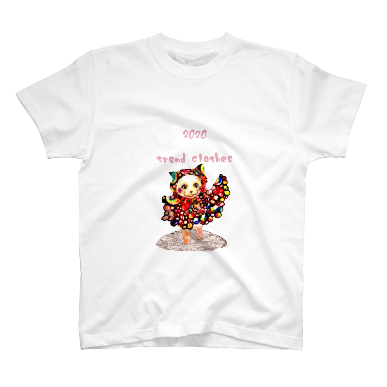 pop_azki_nekoの2020年春 ぱりこれごっこ T-shirts