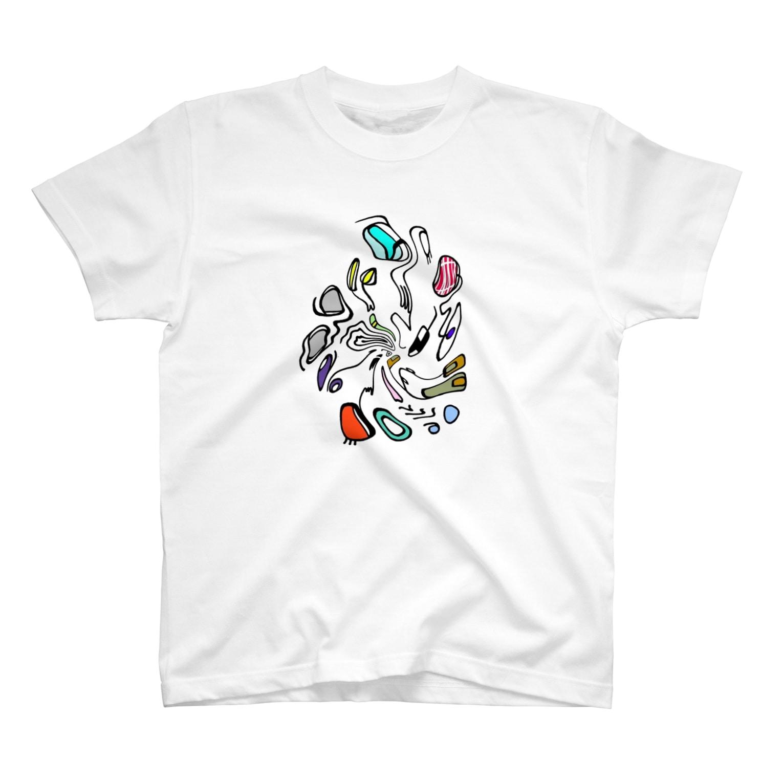 junapeの🌗🌗🌗 T-shirts