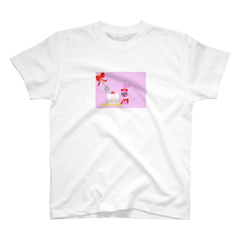 黒河亭の乙女兎 T-shirts