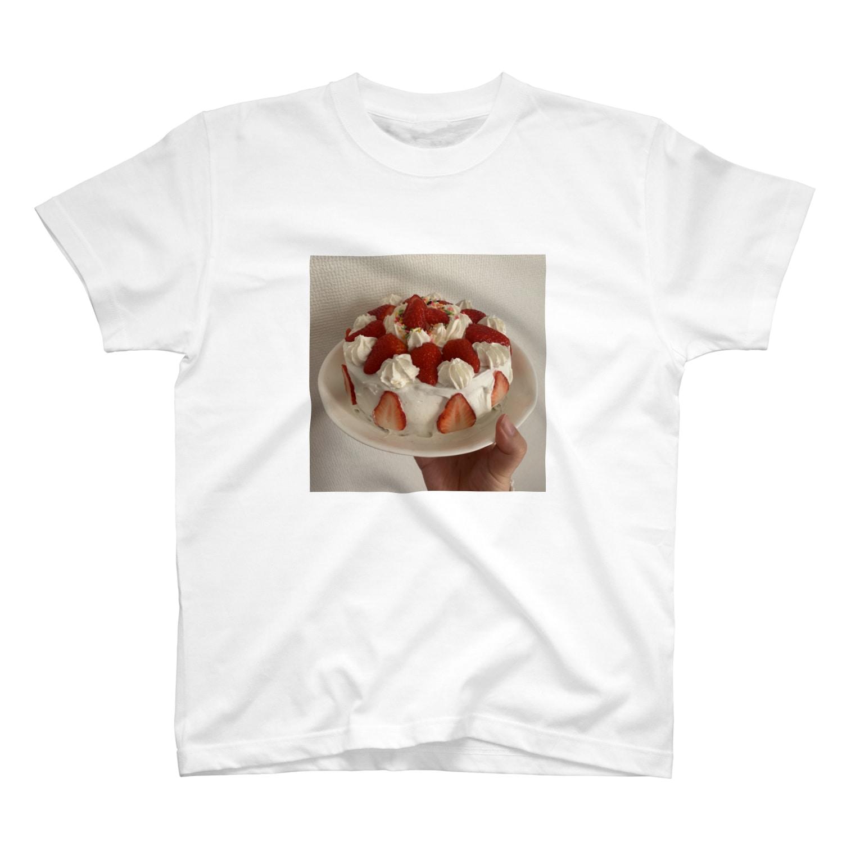 M_go_miのも、がつくったけえき T-shirts