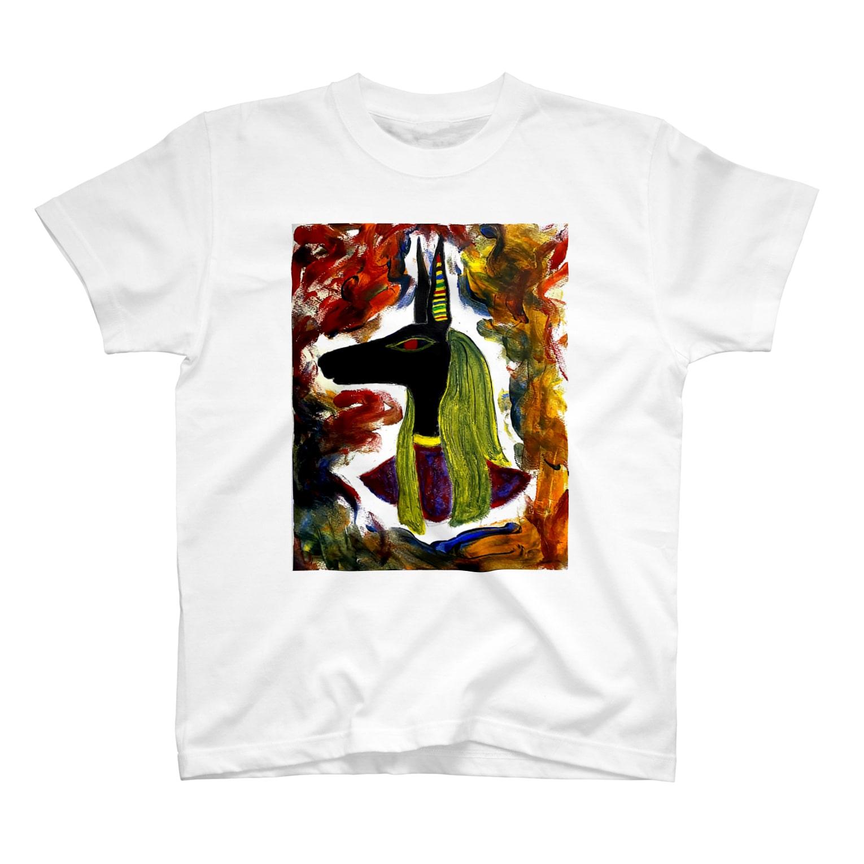 Jinny HayasakiのアヌビスT T-shirts