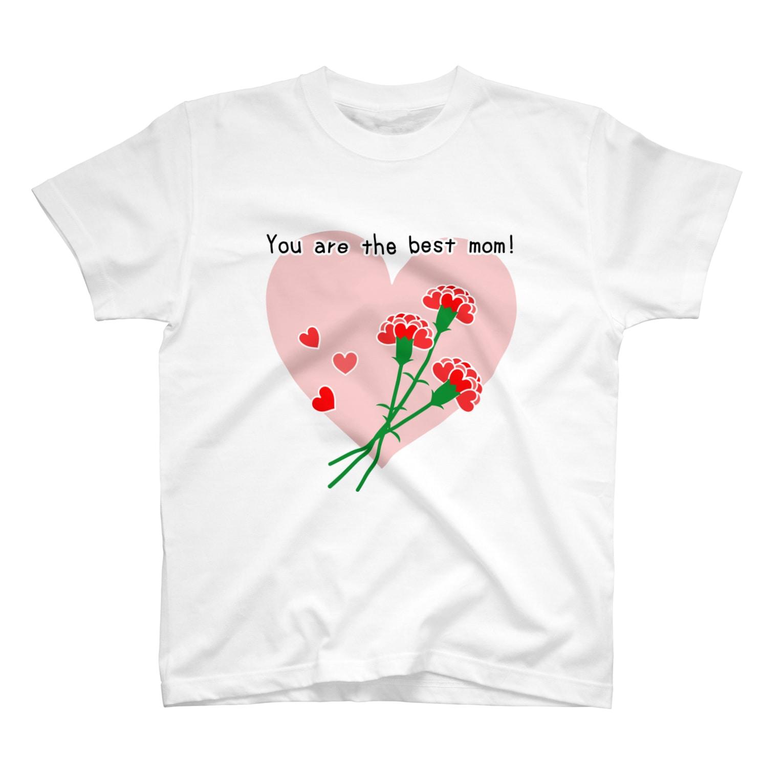Reve de Roseの【母の日】 最高のお母さん! T-shirts