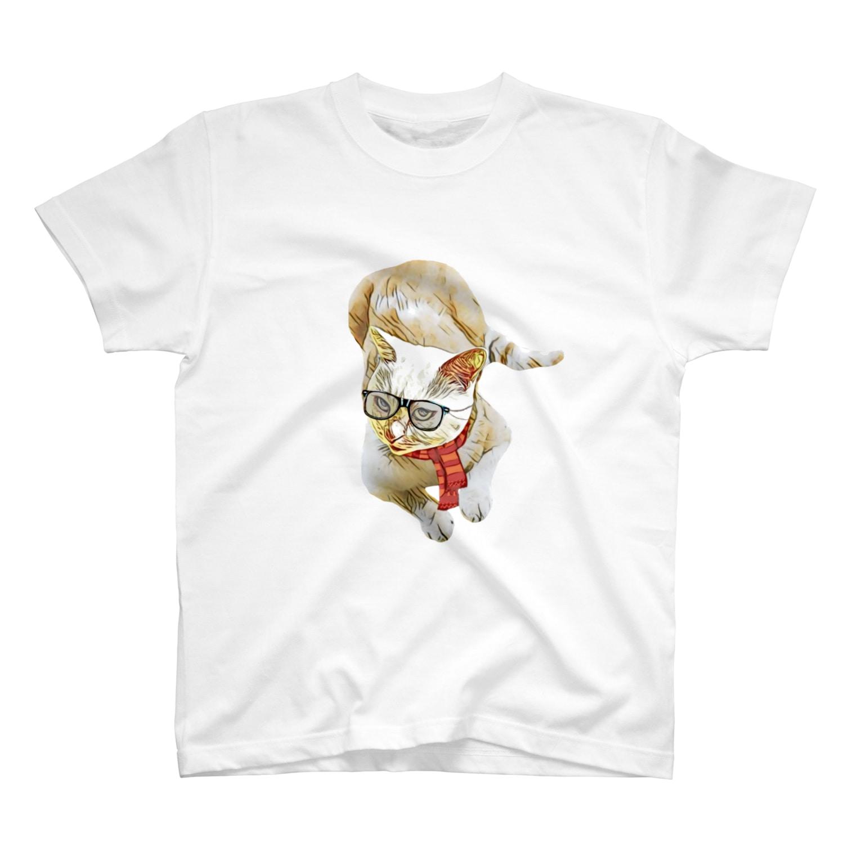 Rock catのメガネCAT T-shirts