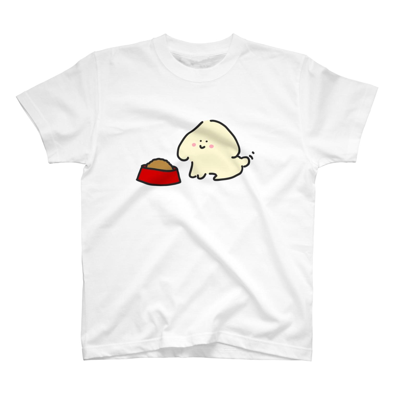 zuuchiのごはん待ち T-shirts