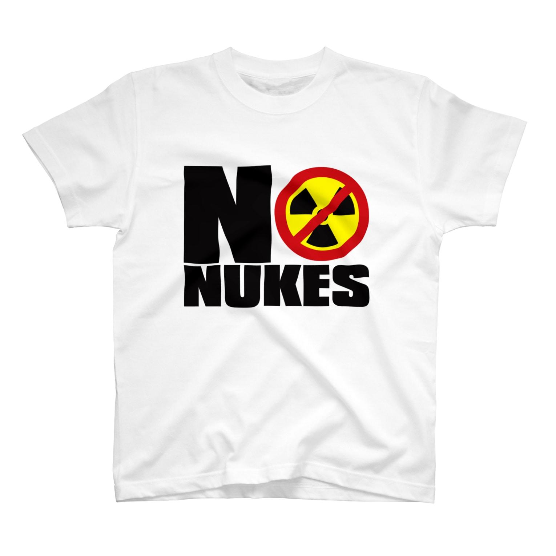 AURA_HYSTERICAのNO_NUKES T-shirts