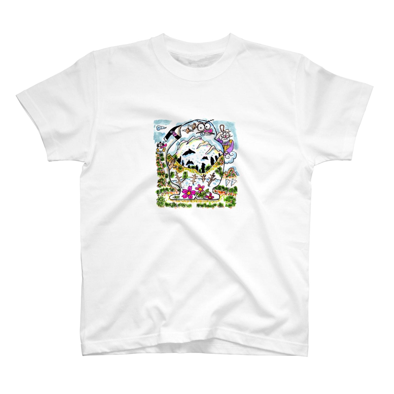 とよだ 時【ゆ-もぁ-と】の山と伝承 T-shirts