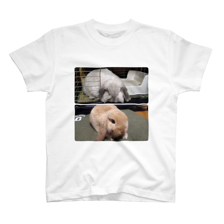 d's rabbitの大福・ざらめ T-shirts