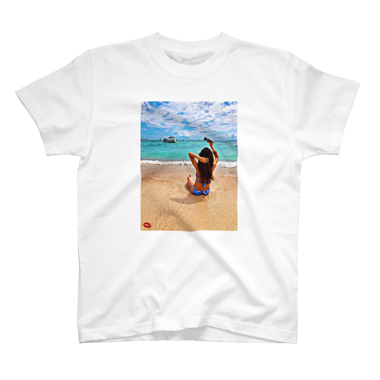 美女T JAPAN💋の@xx.yu__.xx 美女T関西 T-shirts