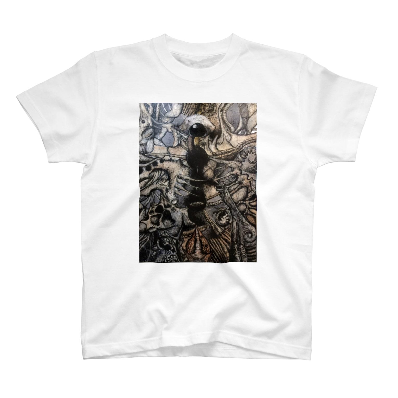 yosixworksの覇者のためのグランド・オベリスク T-shirts