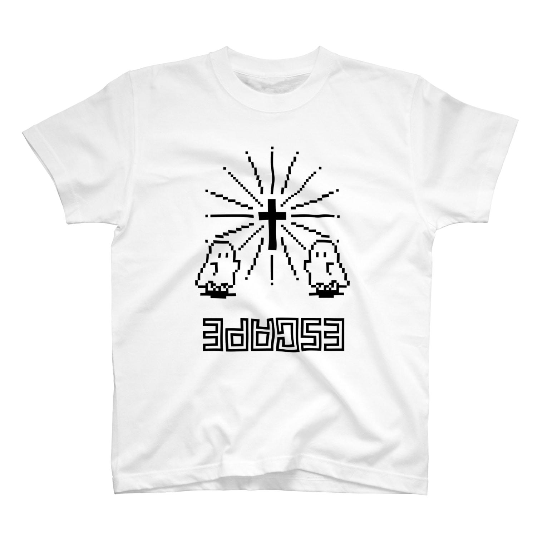 IENITY / MOON SIDEの【IENITY】シーツおばけちゃん #ESCAPE T-shirts