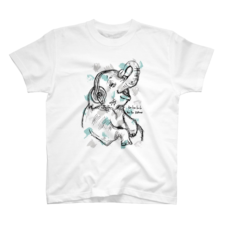 acary33の象Tシャツ T-shirts