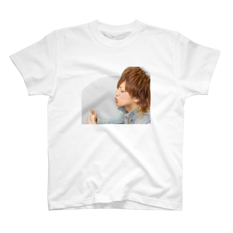 ひろろん٩( ๑╹ ꇴ╹)۶♬の僕のキスの味 T-shirts