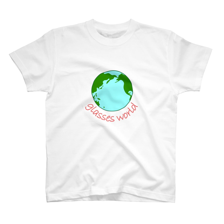 glasses-worldのglasses world T-shirts