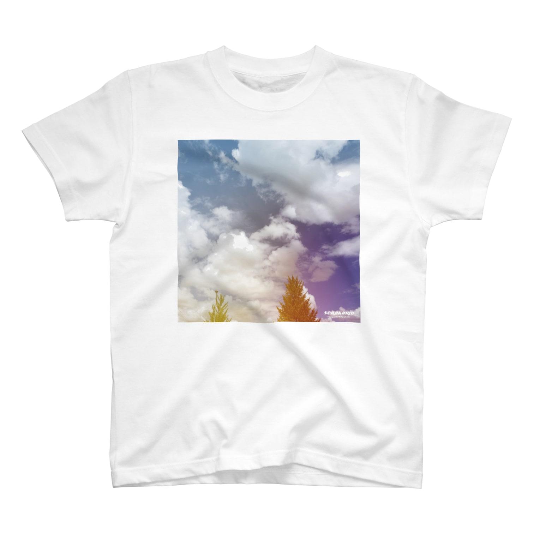 Katsuの空を着るTシャツ T-shirts