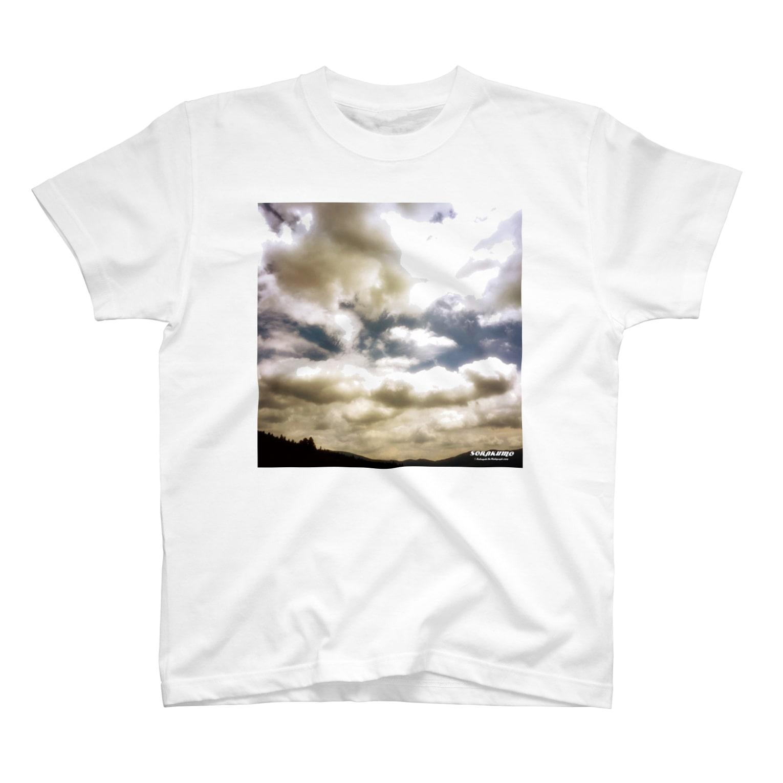 Katsuの空を着るTシャツ Tシャツ