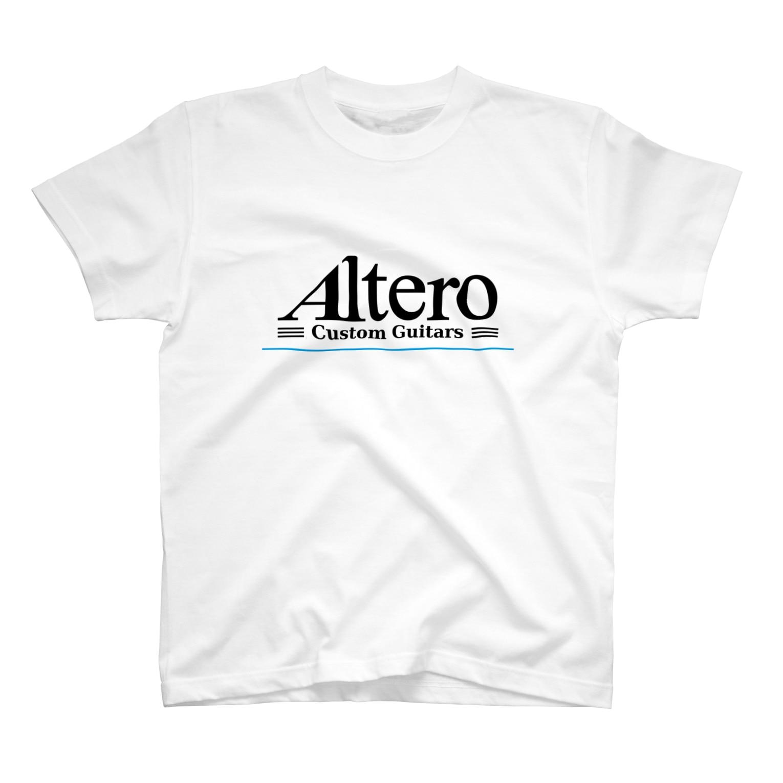 Altero_Custom_GuitarsのAltero Custom Guitars02(淡色向け) T-shirts