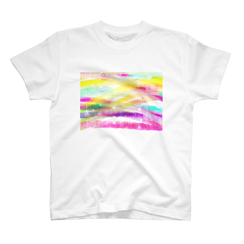 白魔女のアイテム屋の希望が入り混じる場所 T-shirts