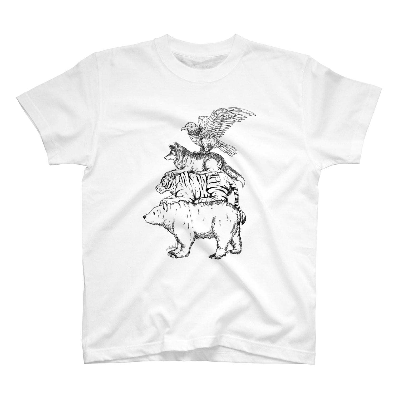 Acabane* Shopの猛獣ブレーメン(simple) T-shirts