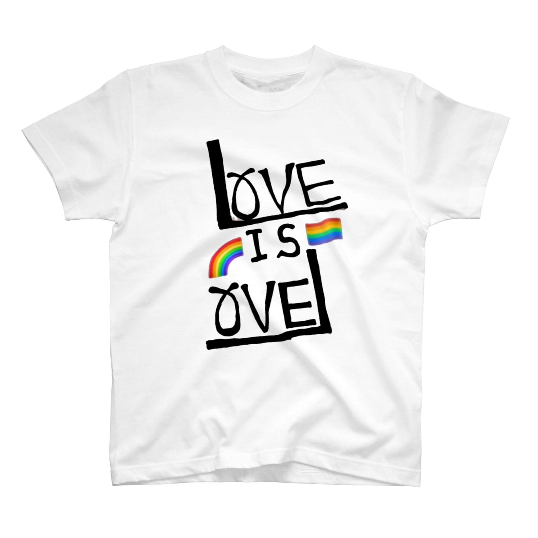 CherryLapparのLOVE IS LOVE T-shirts