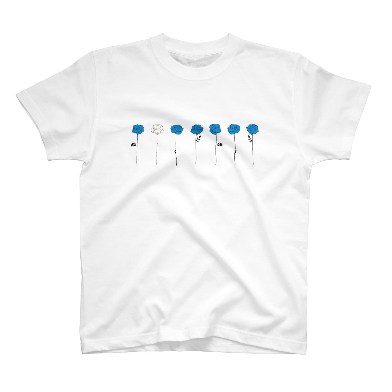 そらの青いバラ(2) T-shirts