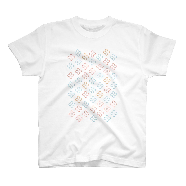 一束の結び目 T-shirts