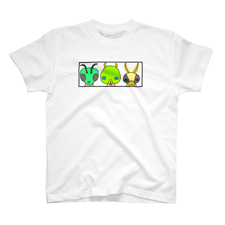 Kimikanの虫研究家さん T-shirts
