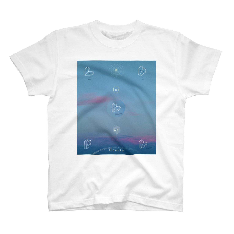 QのA lot of hearts T-shirts