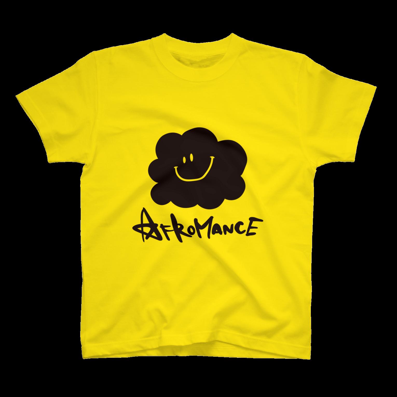 AFROMANCEのアフロマンス・ロゴTシャツ