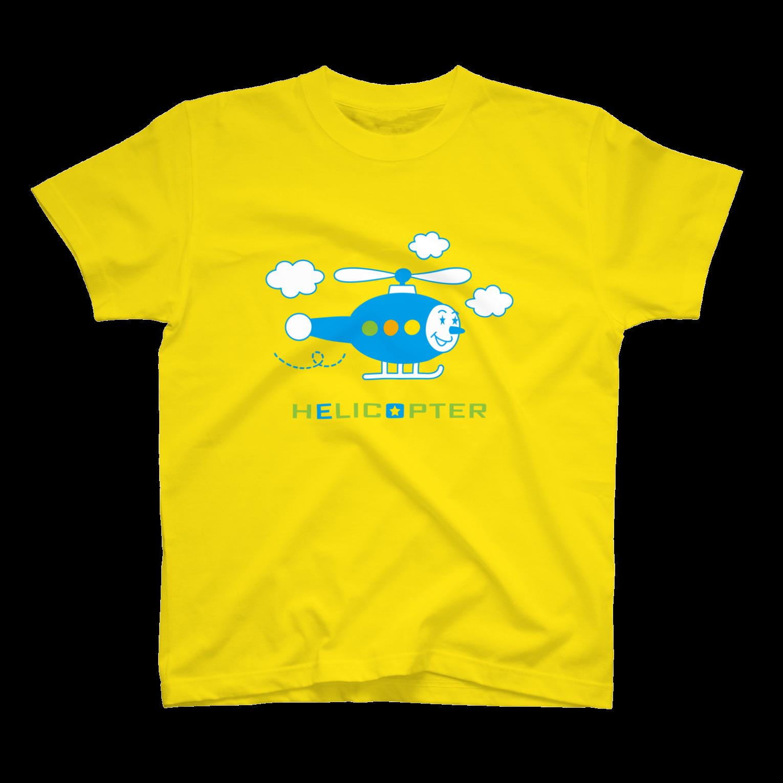 YASUKOのヘリコプターくんTシャツ