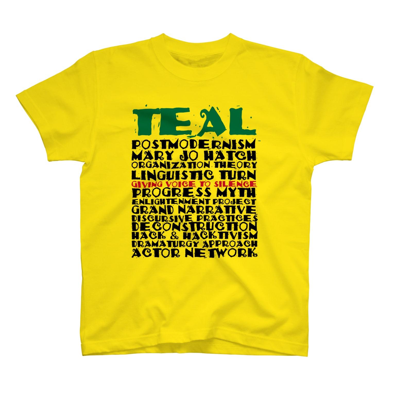 TEALのOrganizational theory T-shirts