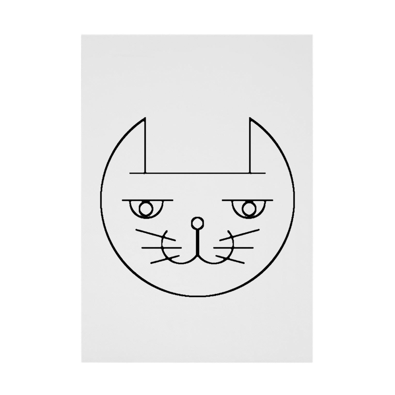 ヒロさんのグッズのネコだお Stickable tarpaulin