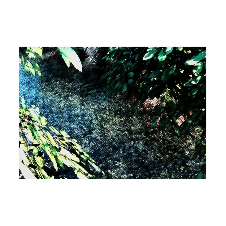 甕邨(ようそん)の雨上がり Stickable tarpaulinの横向き