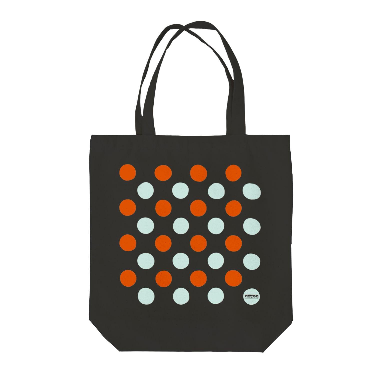 Kantenshopの水玉シリーズ Tote bags