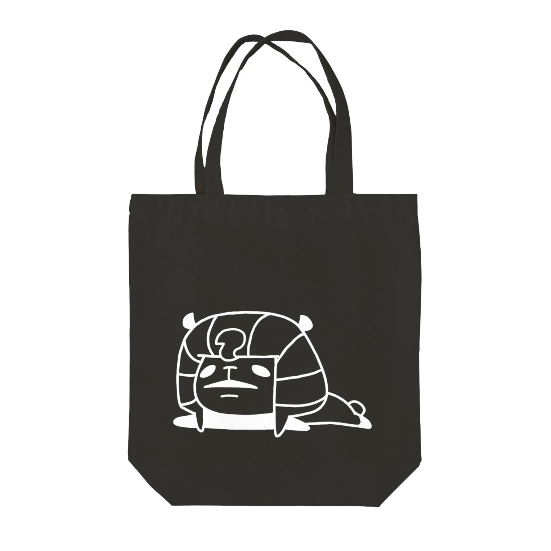 NEKOZE PANDAのツタンカーメンパンダ  Tote bags