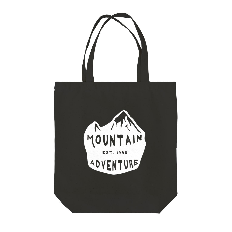 BASE-CAMPのBASE MOUNTAIN WHITE 02 Tote bags