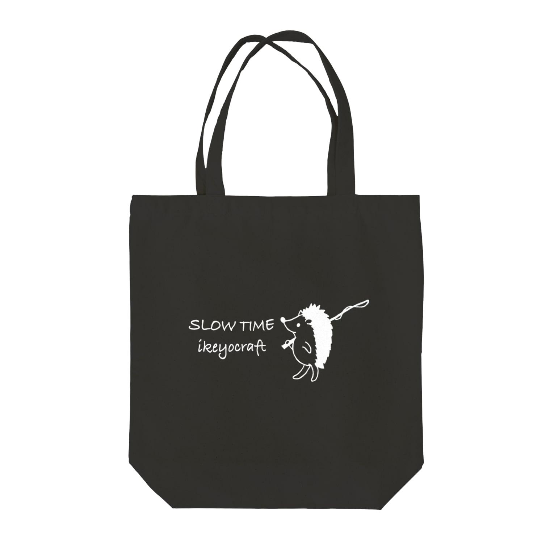 ikeyocraft のHari Nezumi フロントプリント Tote bags