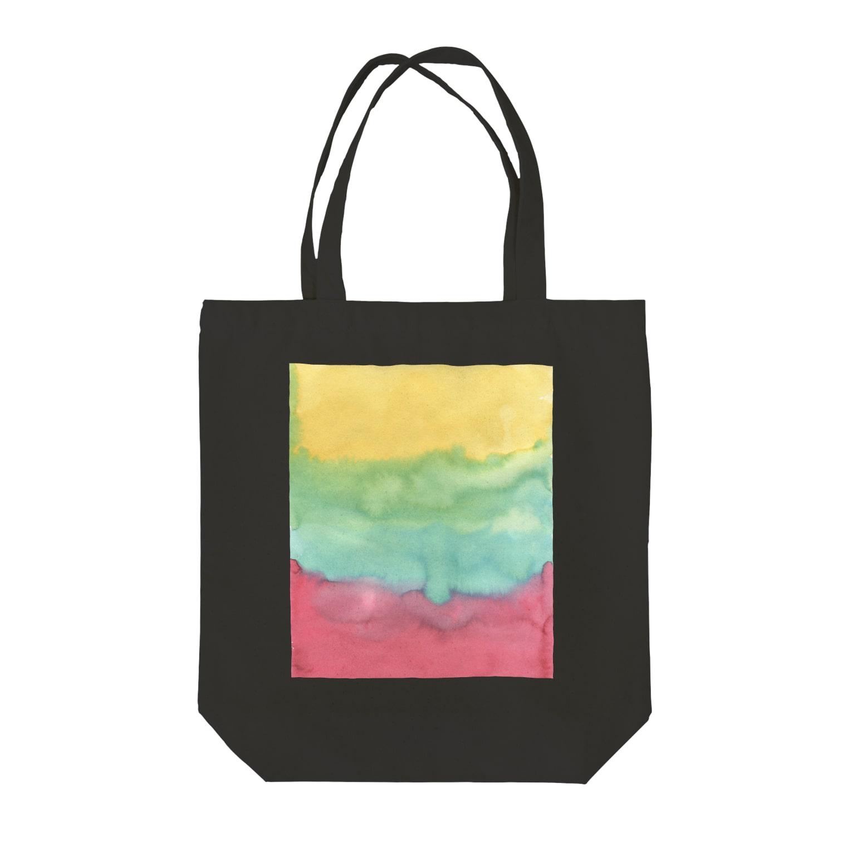 SANKAKU DESIGN STOREのWater REGGAE Beat! Tote bags